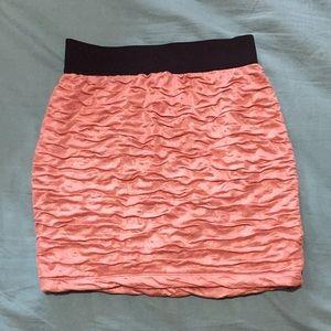 Like New Light Pink, Flattering Bodycon Skirt